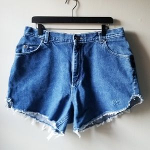 Lee Vintage High Waisted Cutoff Mom Jean Shorts